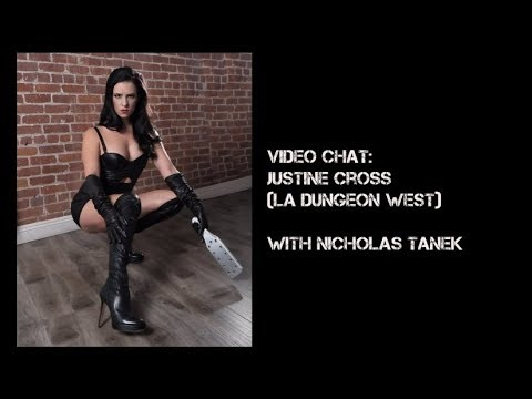 Justine Cross Interviewed by Nicholas Tanek for Your Kinky Friends